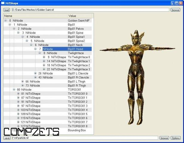 NIF File Format Library and Tools 1 1 0 Free Download
