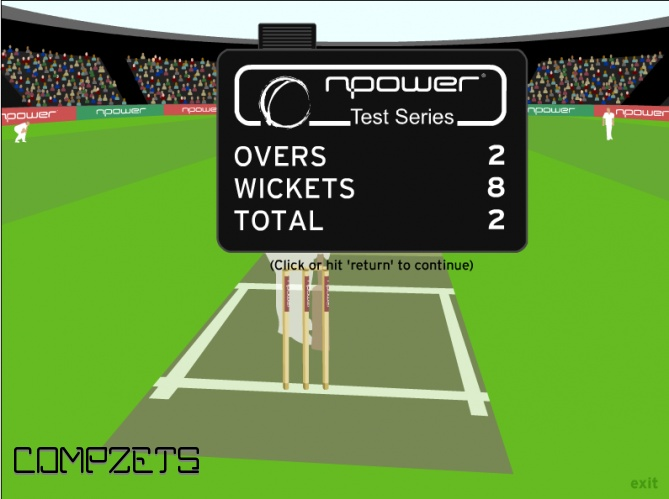 Npower cricket.